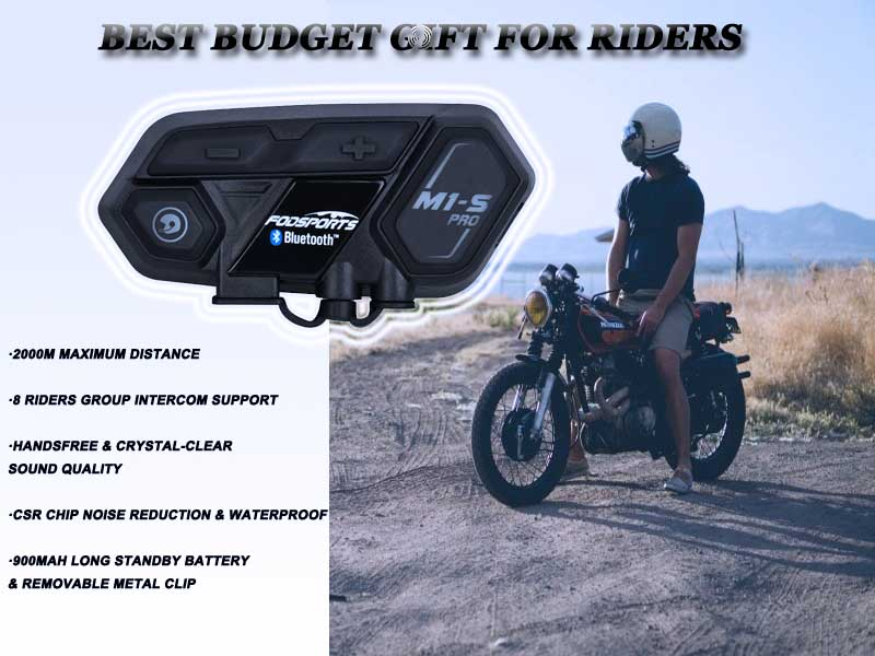 Best budget gift for riders