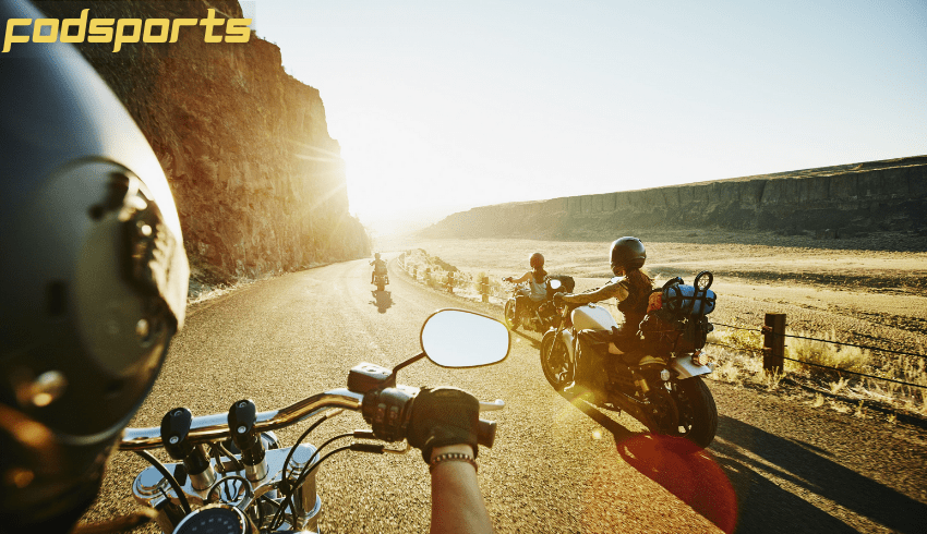 Motorcycle group travel