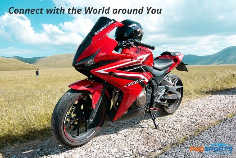 Connect with the World around You when ride a motorcycle