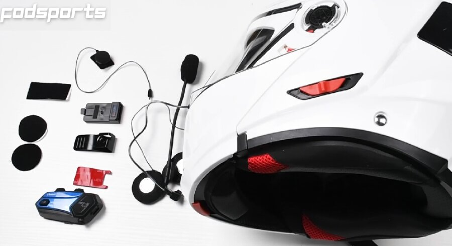 Motorcycle helmets and M1s pro accessories