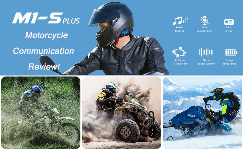 M1-S PLUS motorcycle communication review