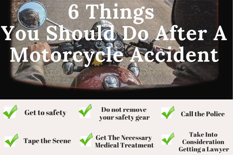 6 Things You Should Do After A Motorcycle Accident
