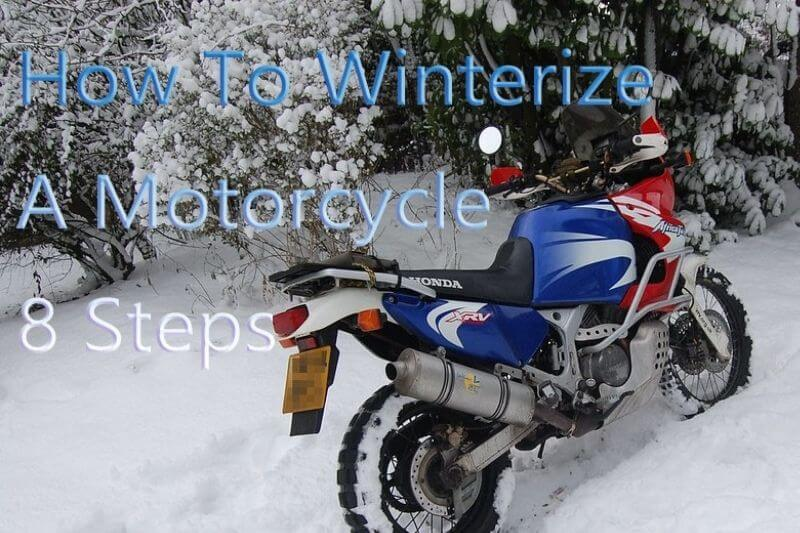 How To Winterize A Motorcycle 8 Steps, Shocking Details
