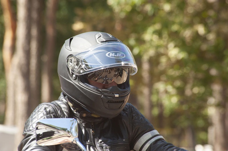 Why A Motorcycle Helmet Causes Headaches