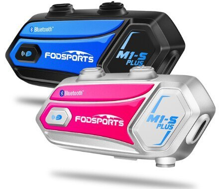 Fodsports M1-S PLUS -Share The Same Music with Riders, microphone mute function