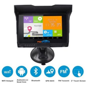 Fodsports Motorcycle 5 Inch GPS
